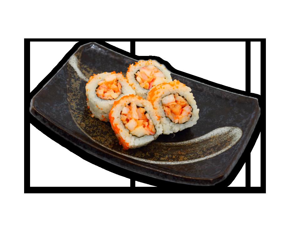 Hot Spicy Ebi (scharf) ( 8 Stk )