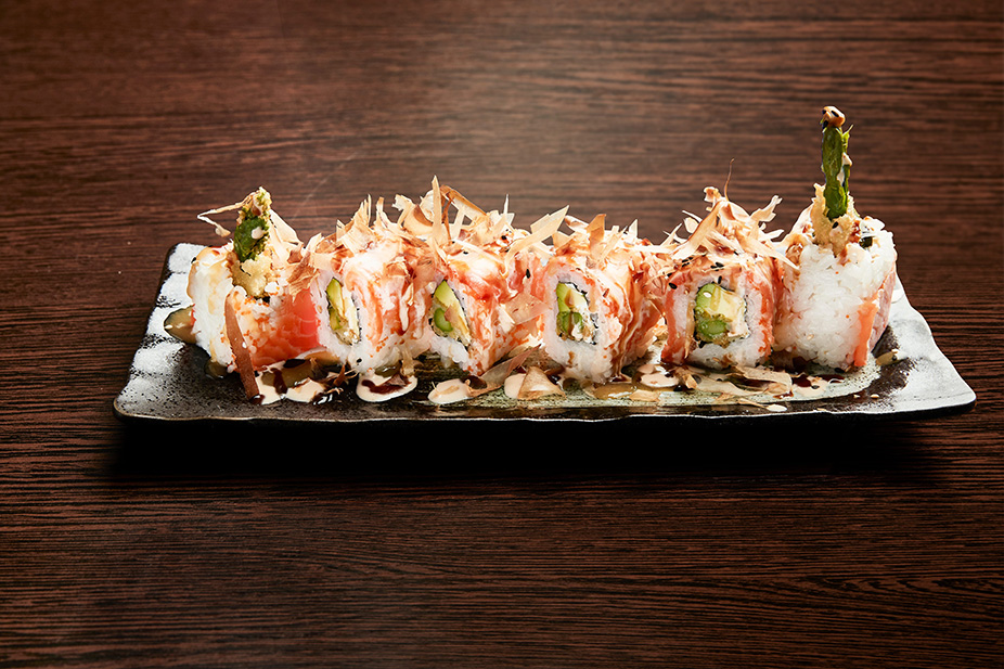 Special Roll - Sake On Fire
